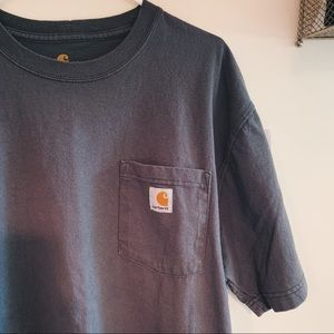 Grey Carhartt T-shirt Short Sleeve
